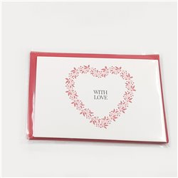 With Love Cards - 5-pack