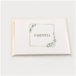 Farewell Cards - 5-pack