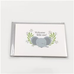 Welcome Little One Cards - 5-pack
