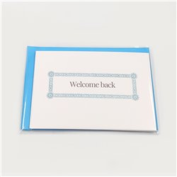 Welcome Back Cards - 5-pack