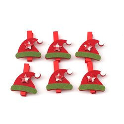 Christmas Hat Pegs