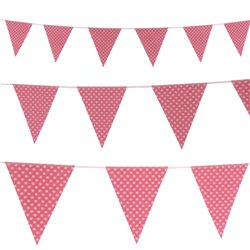 Large Dots Party Paper Bunting