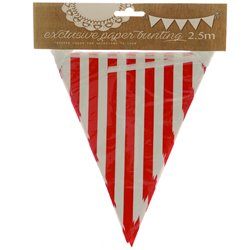Striped Party Paper Bunting