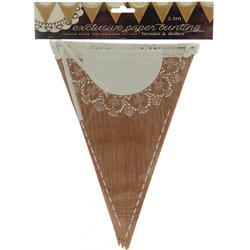 Hessian Doilie Bunting