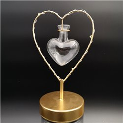 Heart Light with Budvase