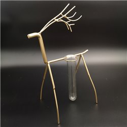 Deer Metal Budvase