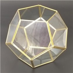 Frosted Glass Terranium
