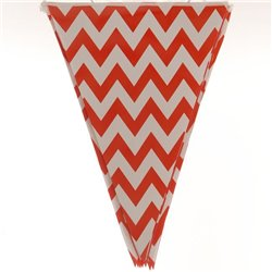 Chevron Party Paper Bunting