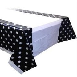 Dotted Panels Party Tablecloth
