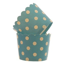 Dotted Cupcake Holders
