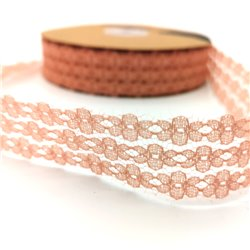 Lace Flower Pink 25mm