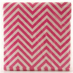 Chevron Party Serviettes 20pcs