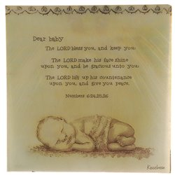 Baby Scripture Serviettes 20pcs