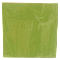 Green Plain Serviettes 20pcs