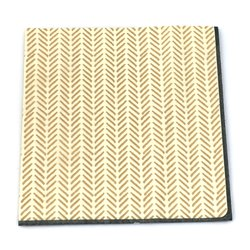 Gold Pattern Serviettes 20pcs