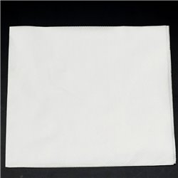 Plain White Serviettes 20pcs